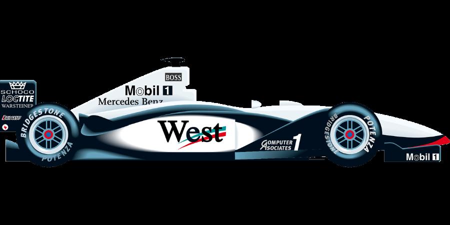 Formula 1 auto McLaren